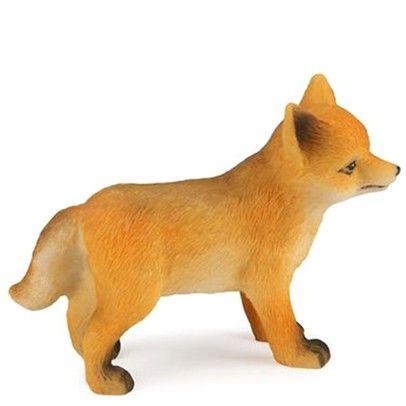 Fox Sharpener - ooh, cute! I wonder where the pencil goes in ...