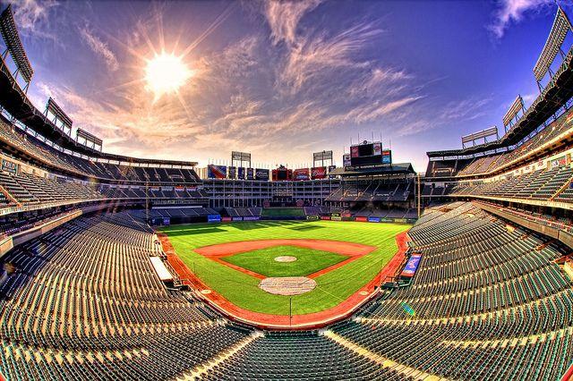 The Ballpark In Arlington American League Champions Texas Rangers Texas Rangers Baseball Texas Rangers Ballpark Texas Rangers