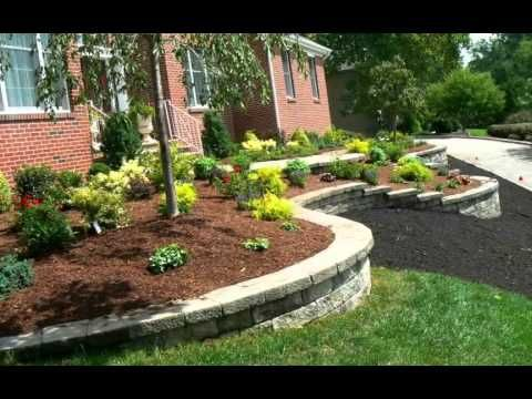 Bon Curb Appeal Front Yard Landscaping   YouTube