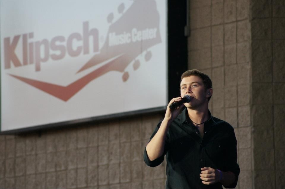 Scotty McCreery at Klipsch Music Center www.facebook.com/...