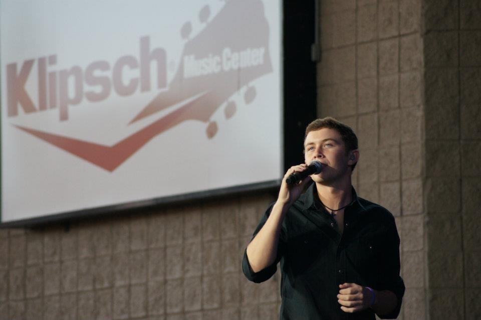 Scotty McCreery at Klipsch Music Center www.facebook.com/...