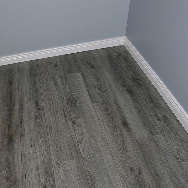 Luxury Plus 7mm Millennium Oak Grey Laminate Flooring Each Plank Is 193mm Wide 1380mm Long And 7mm Thi Wood Floor Design Floor Design Grey Laminate Flooring