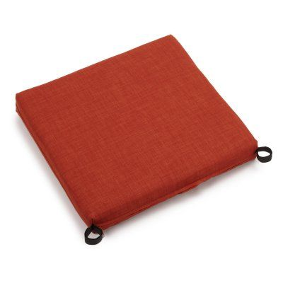 Blazing Needles 19 X 21 In. Outdoor Chair Cushions   Set Of 2    93454 2CH REO SOL 02