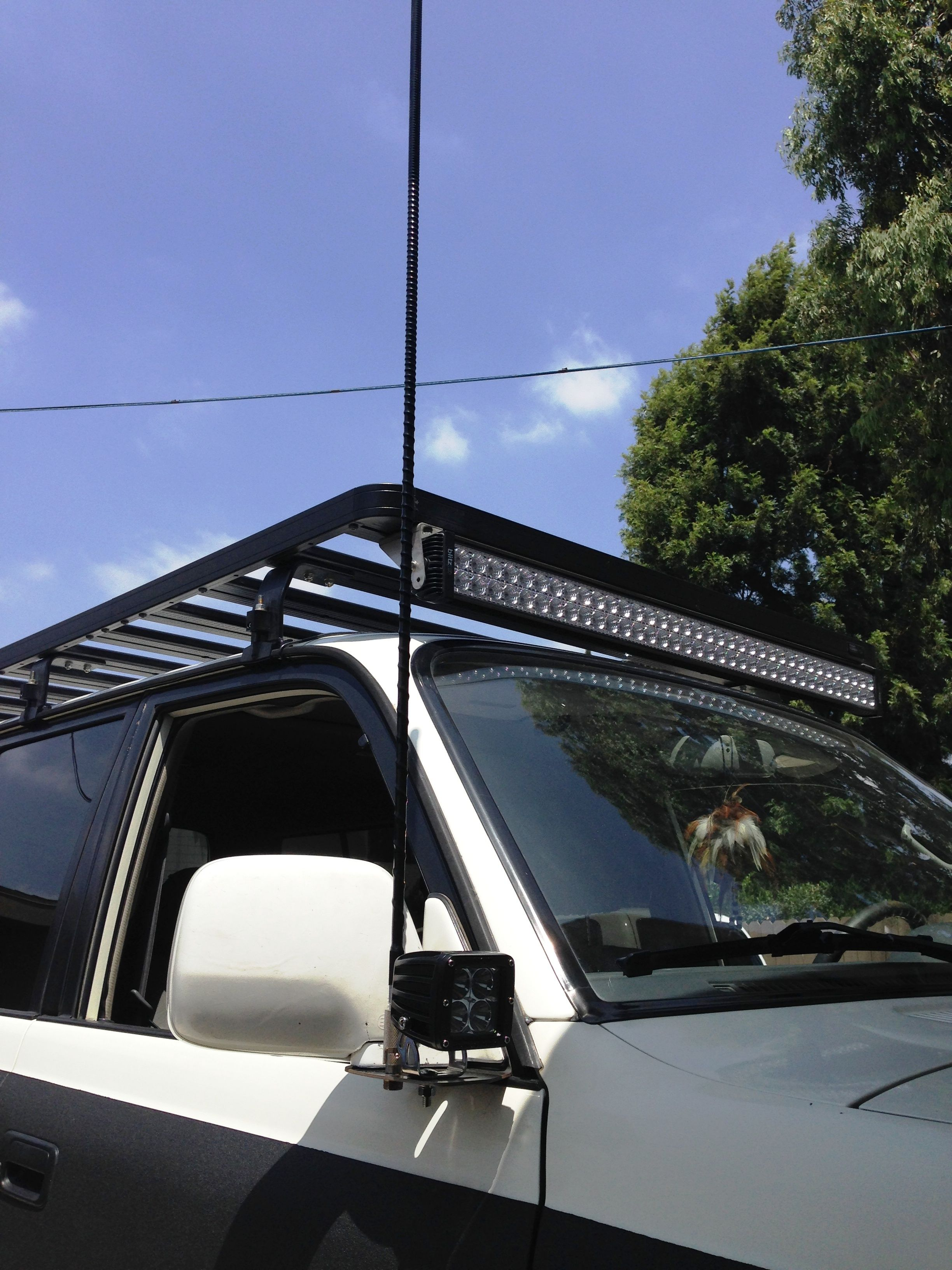 yodaTEQ Ditch Light Mounts Toyota FJ80 Land Cruiser Lexus LX450 With the  installation of these Toyota
