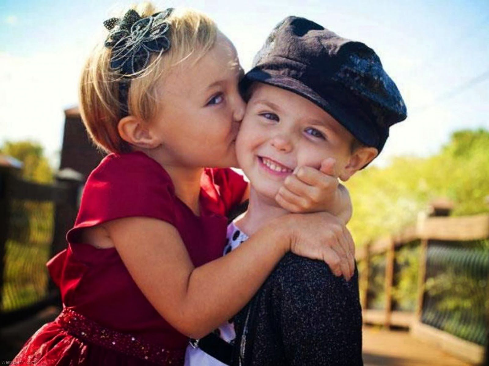 Full Hd Cute Baby Kiss Images Download Wallpapers Android Kids