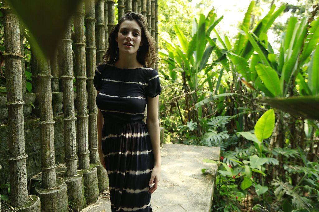Congo Striped T- Shirt Maxi Dress