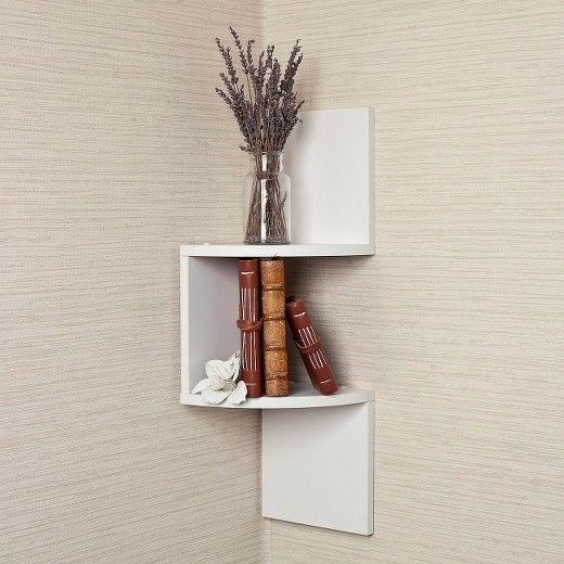 Small Corner Shelves Target Corner Shelves White Corner Shelf