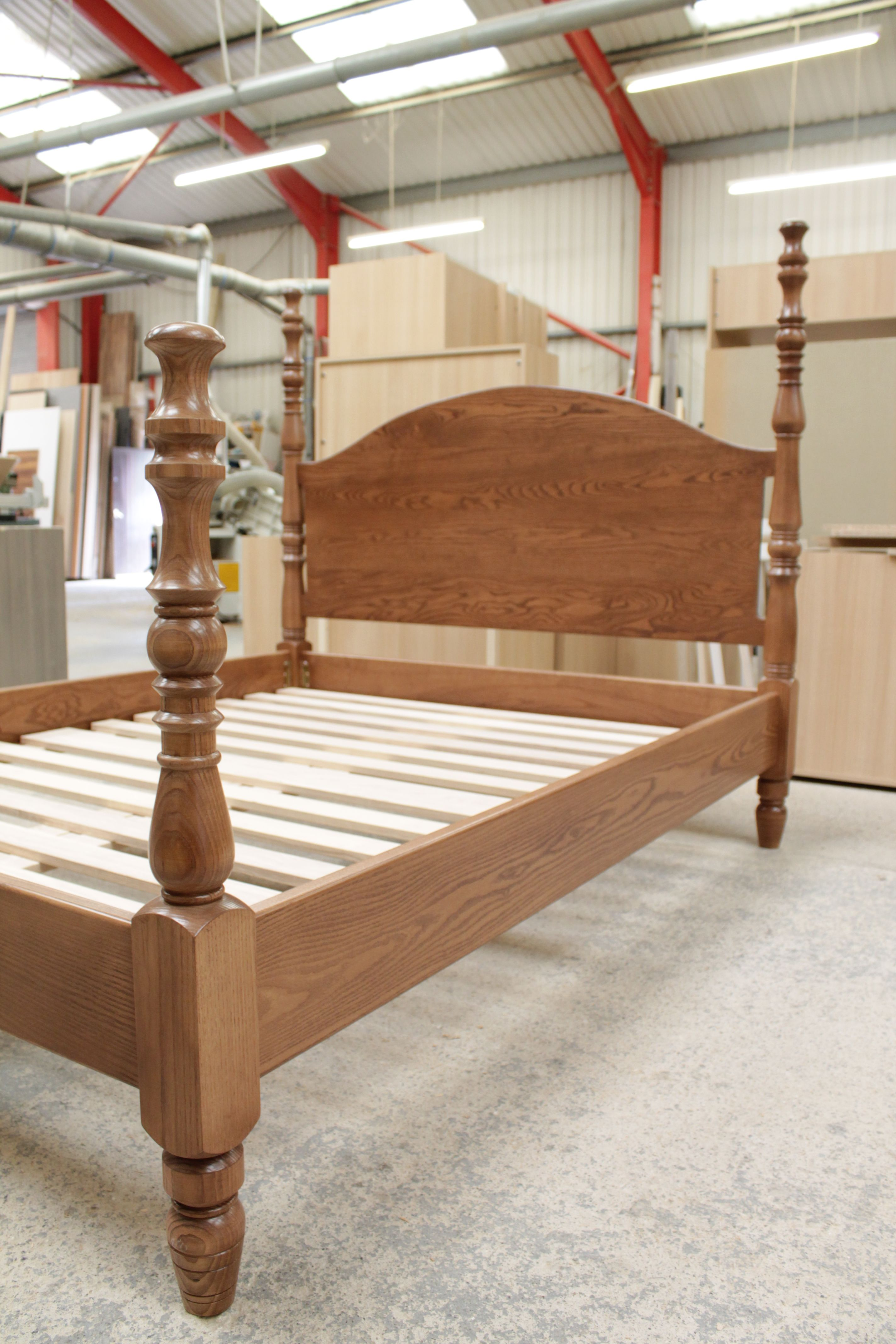 Our Completed And Assembled Bespoke Bed Wooden Bed Luxury
