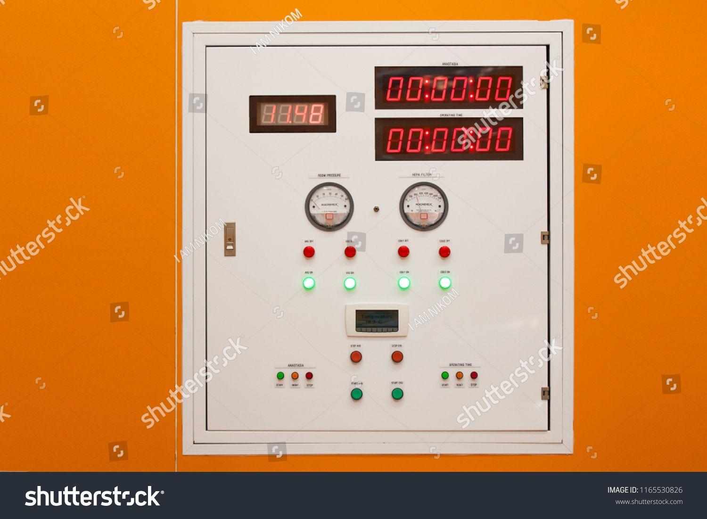 Low Voltage Motor Control Center Cabinet  Pilot Lamps