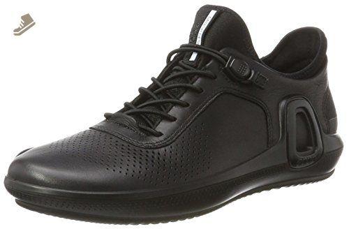 ECCO Women's Intrinsic 3 Fashion Sneaker, Black, 41 EU/10-10.5 M