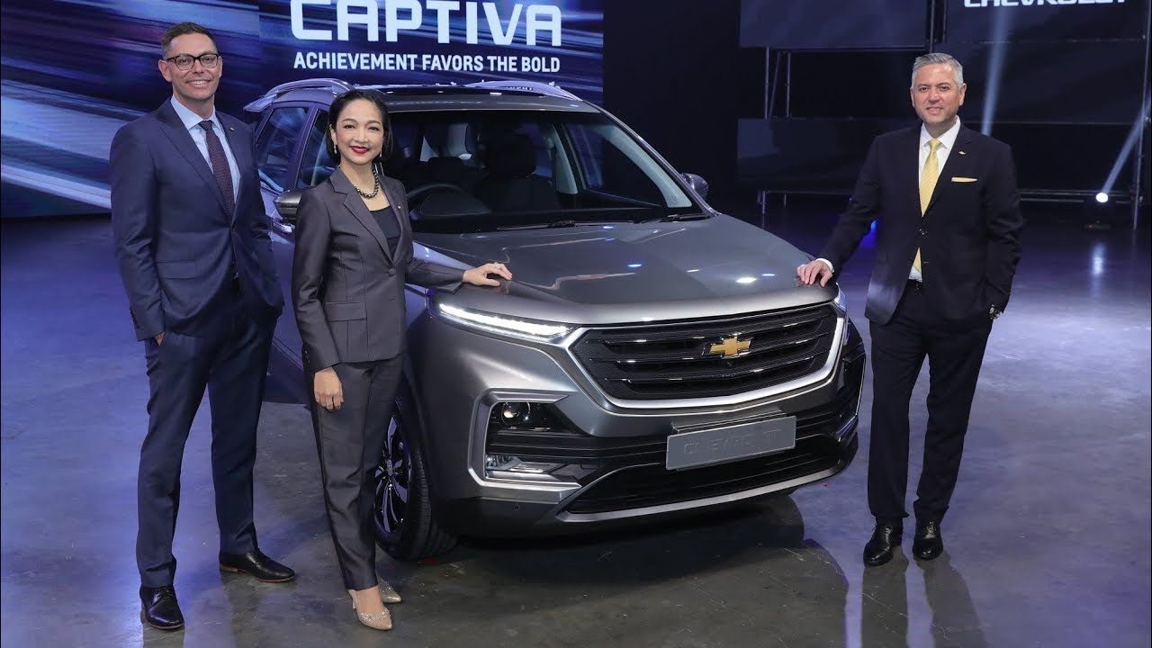 2020 Chevrolet Captiva Chevrolet Captiva Chevrolet Launch Event