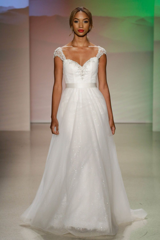 The Jasmine inspired Disney wedding dress apart of Alfred Angelo\'s ...