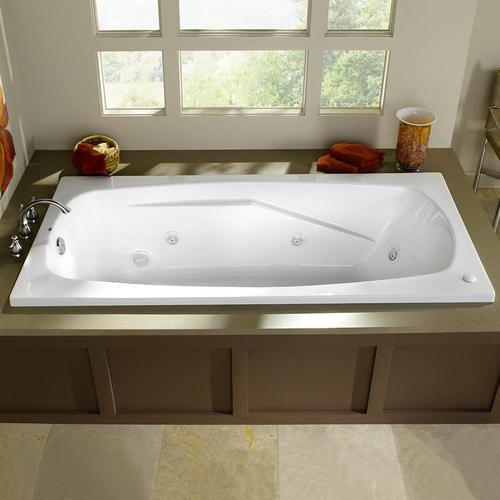 Eljer Cascada Acrylic Whirlpool 399 Menards Small Bathroom Remodel Whirlpool Tub Whirlpool Bathtub