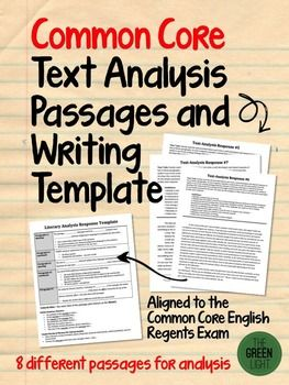 Help Your Students Master Literary Analysis Writing With This