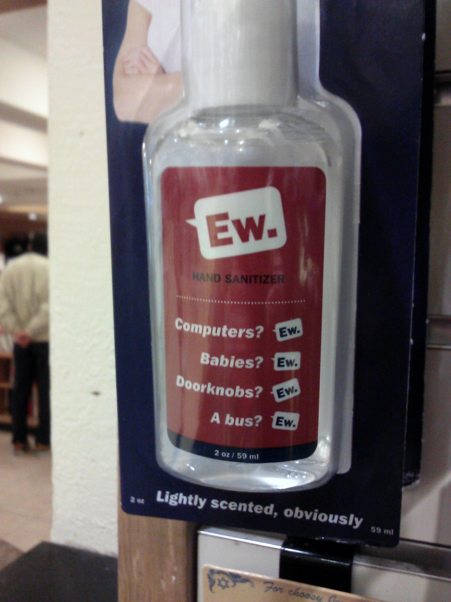 Hilarious Marketing For Hand Sanitizer Hand Sanitizer Sanitizer
