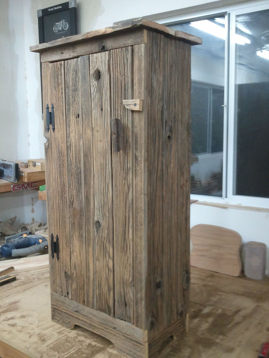 Awesome Barnwood Jelly Cabinet. $145.00, Via Etsy.
