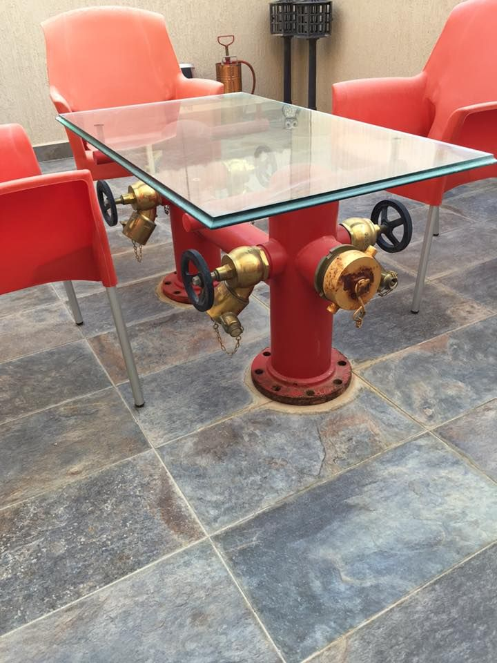 Fire Hydrant Table | Shared by LION