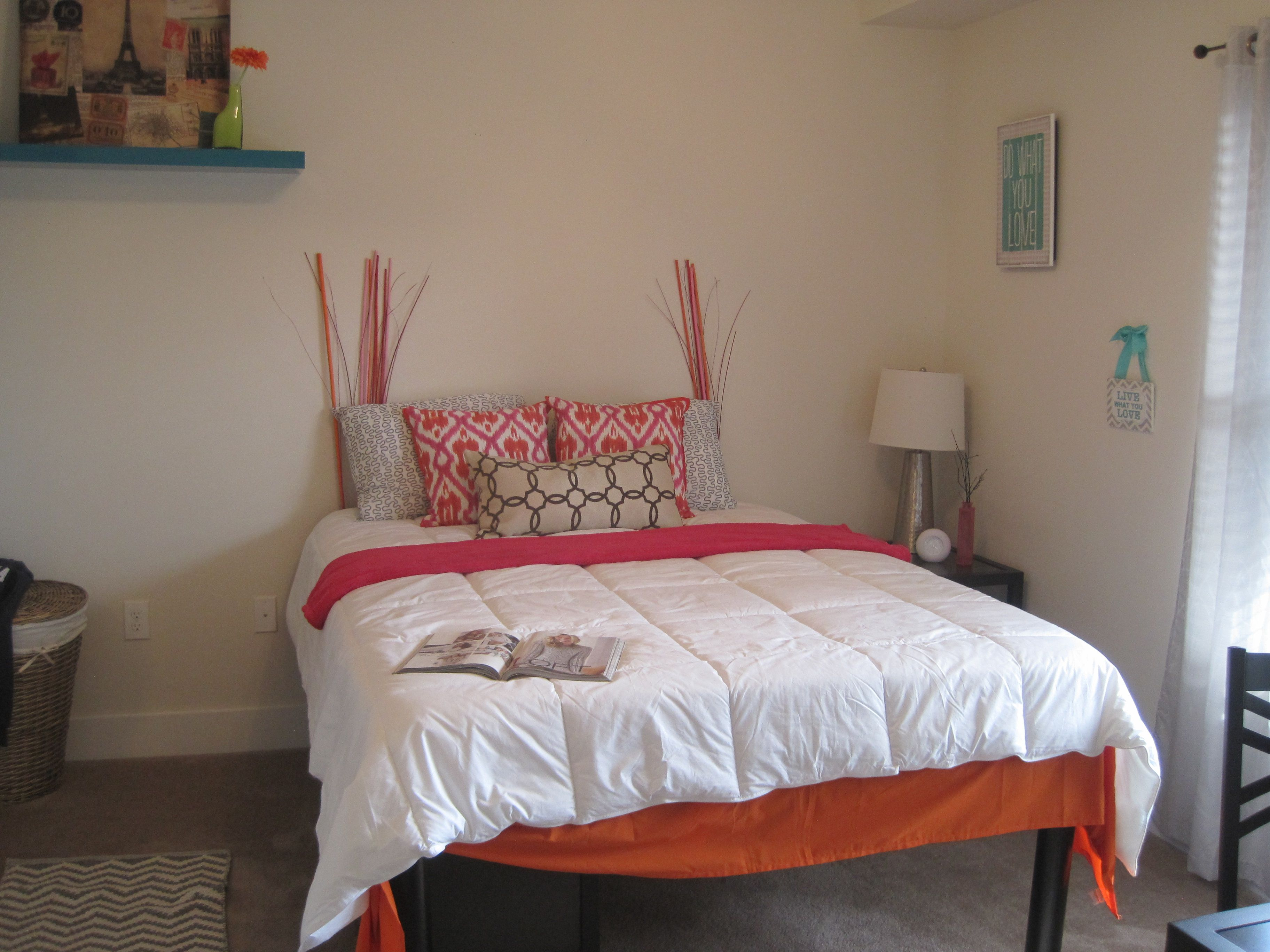 Bedroom A Furnished 9 ft. ceilings, queen sized bed, huge