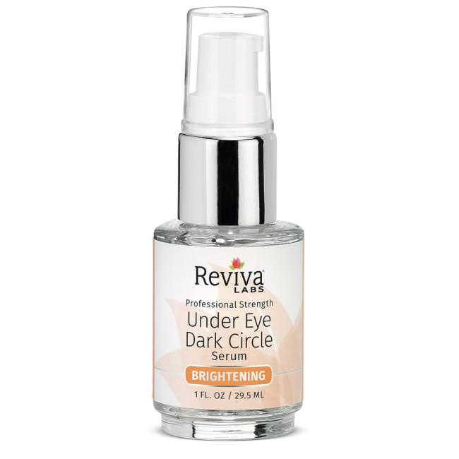 Reviva Labs Professional Strength Under Eye Dark Circle Serum | 1 fl oz Serum | Skin Care #darkcircle