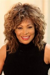 Image result for Tina Turner curly hair