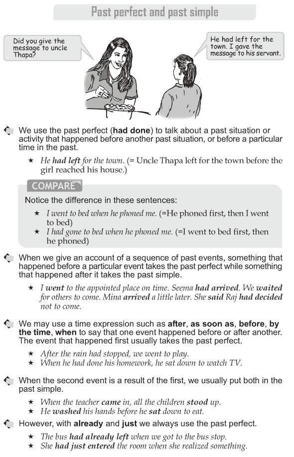 grade 10 grammar lesson 8 past perfect and past simple grammar teaching english grammar. Black Bedroom Furniture Sets. Home Design Ideas