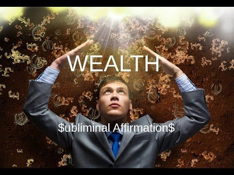 Subliminal Messages | Wealth & Prosperity Audio | Law Of
