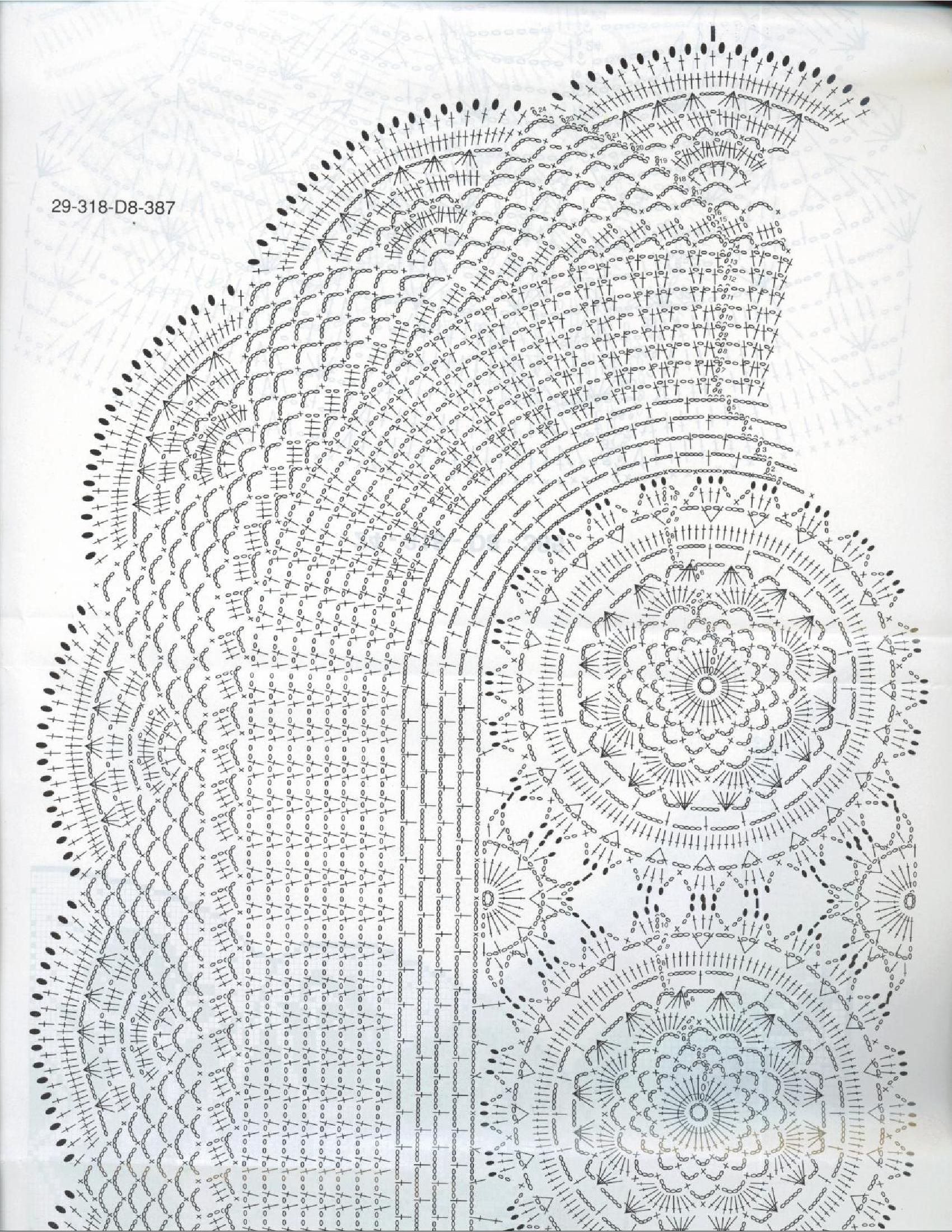 Pin By Rieqa On Doilies Pinterest Crochet And Oval Doily Diagram