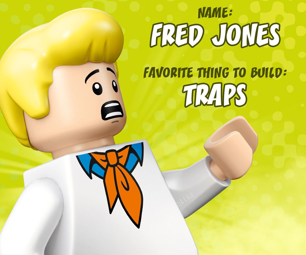 LEGO Fred Loves To Build Clever Traps To Catch Villains