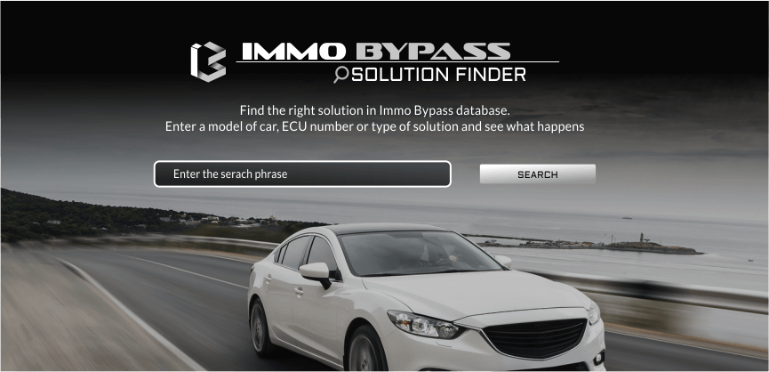 Immo off and virgin solutions for thousands of cars and