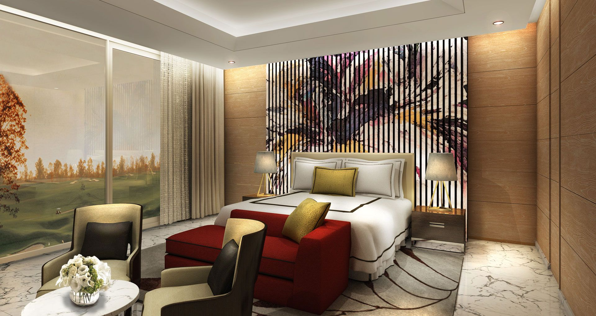 Golf Residences and Club House interior design by studio hba