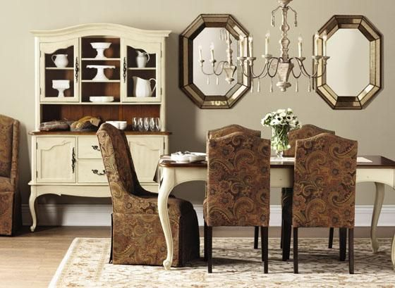Provence Hutch  Hutches  Kitchen And Dining Room  Furniture Fascinating Dining Room Set With Hutch Design Decoration