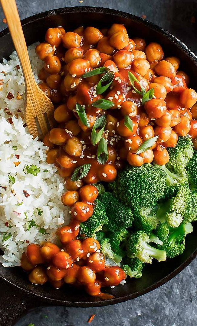 Photo of Sweet and Sour Chickpeas