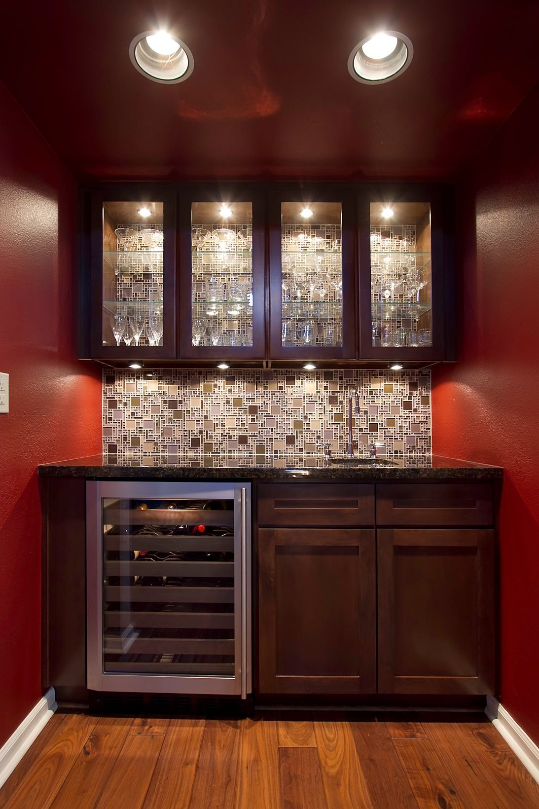 Lighting, Glass Tile, would love to make over my butlers pantry ...