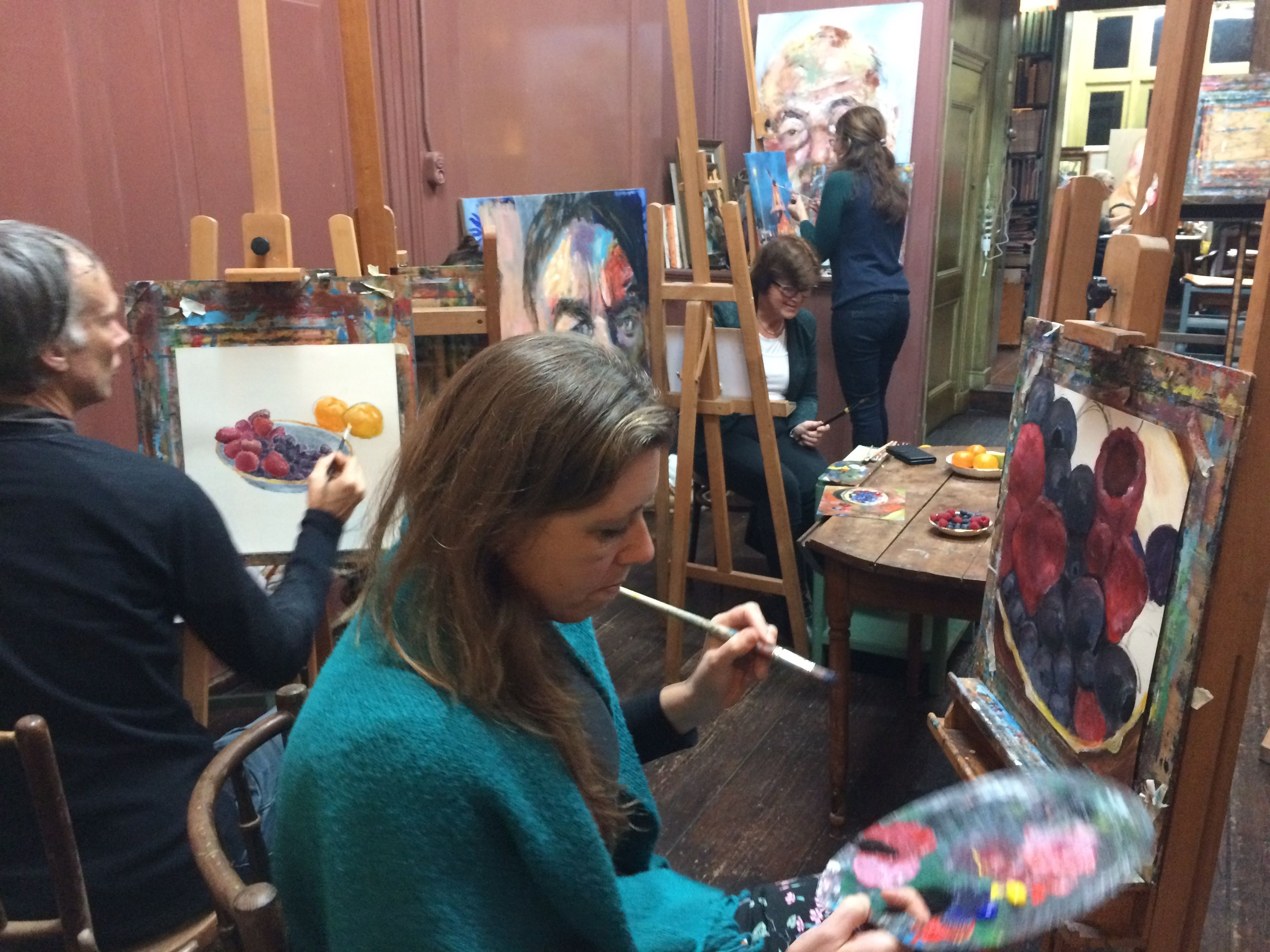 Teken-, schilderles atelier #Haarlem