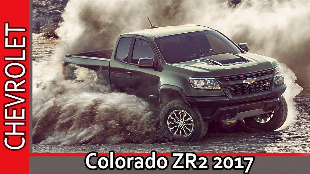Chevrolet Colorado Zr2 2017 Shevrole Kolorado Zr2 2017 Obzor Ot