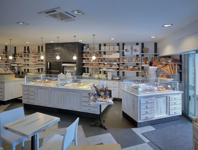 shabbychic #legno #arredamento #design #panetteria #bancone ...