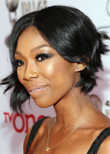 Brandy's Asymmetrical Short Shag | Short Hairstyles | Pinterest ...