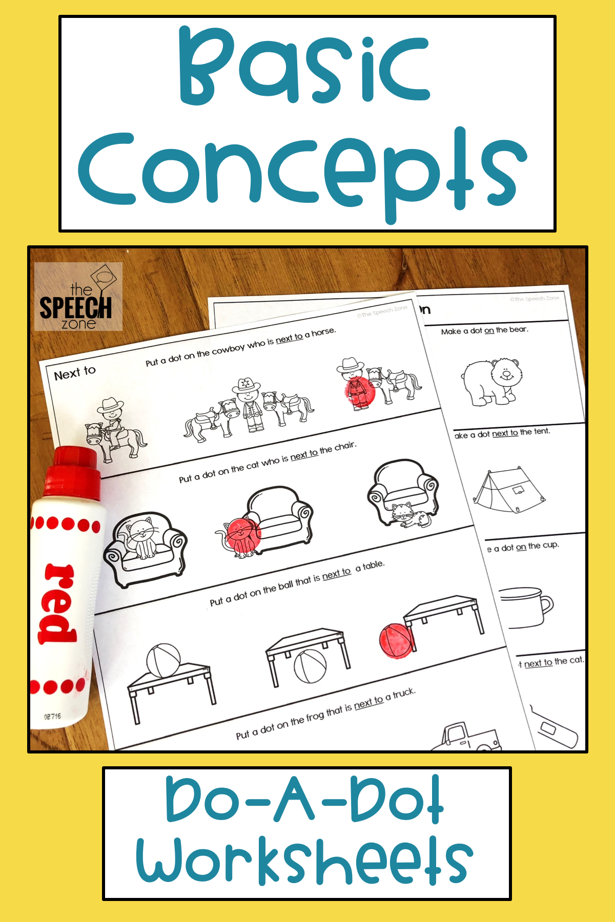 Basic Concepts Worksheets
