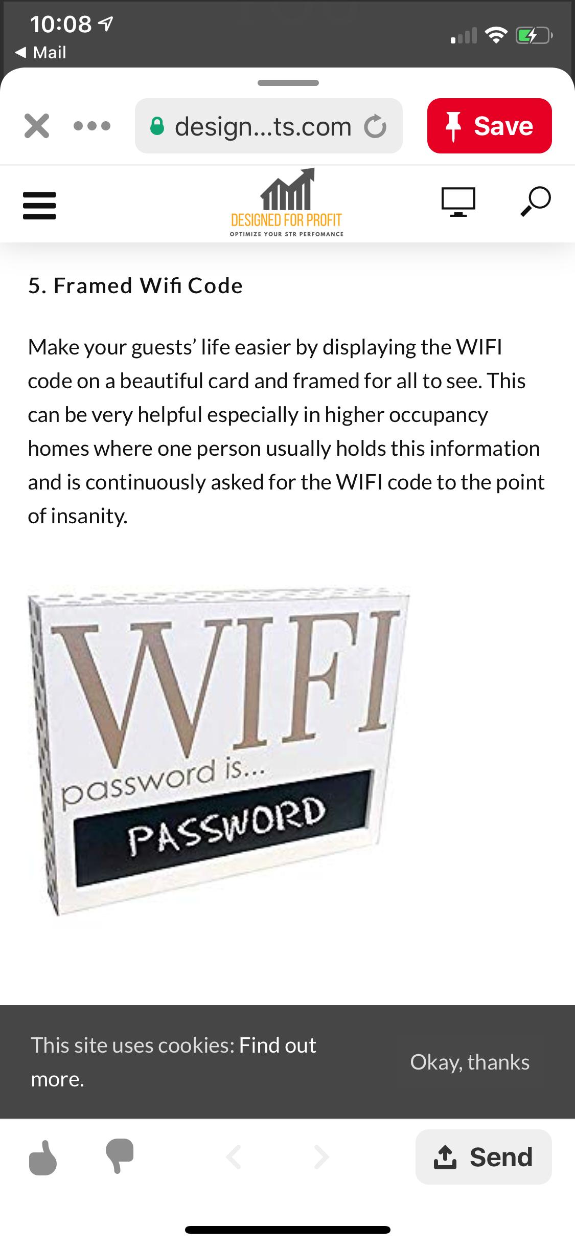 Pin by Lori Shultis Kafel on Air bnb   Wifi code, Make it ...