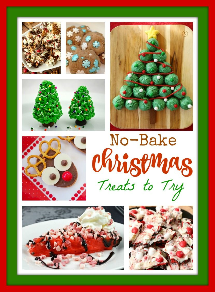 No-Bake Christmas Treats to Try | Pinterest | White chocolate ...