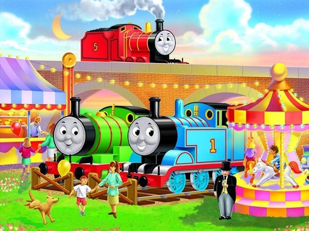 Thomas And Friends Wallpaper Border