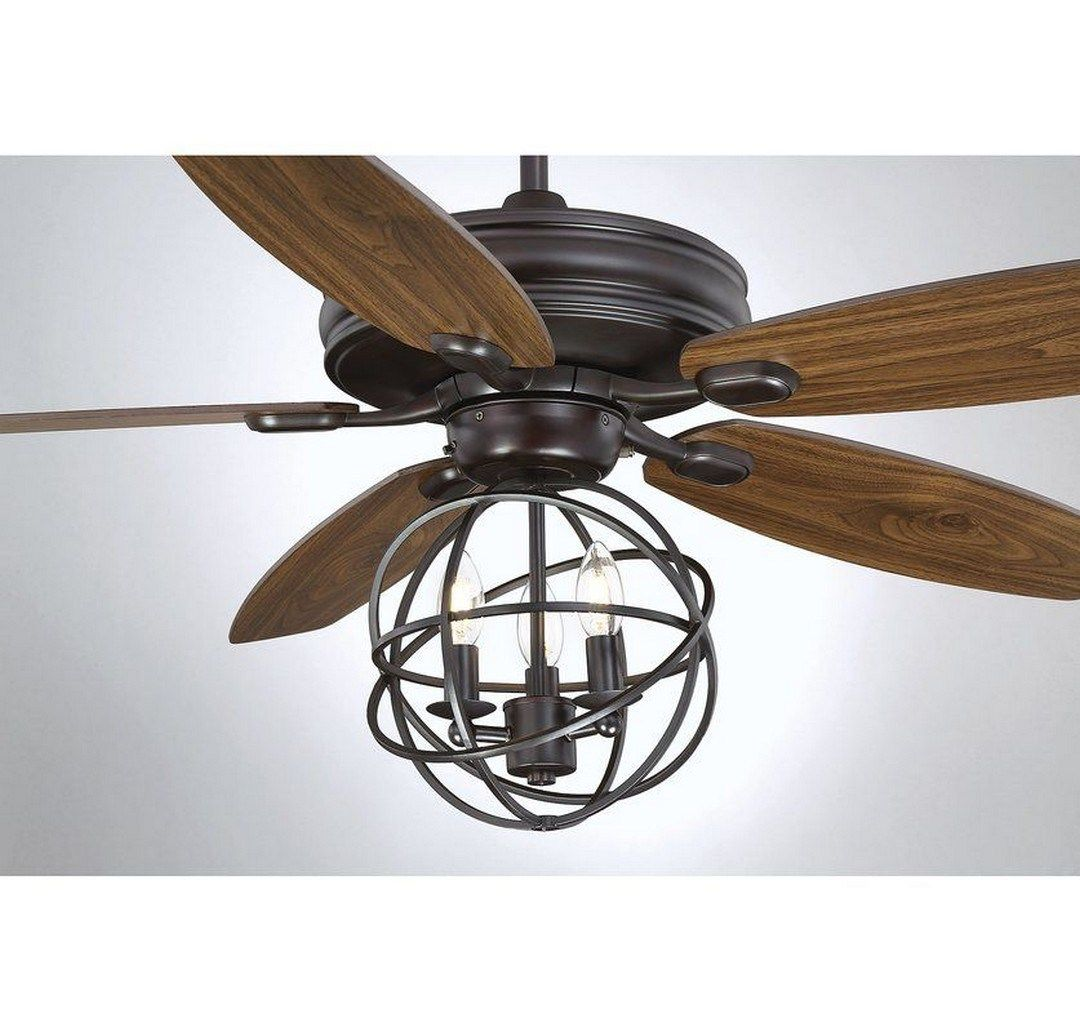 64 This Industrial Style Ceiling Fan Is A Great Way (20