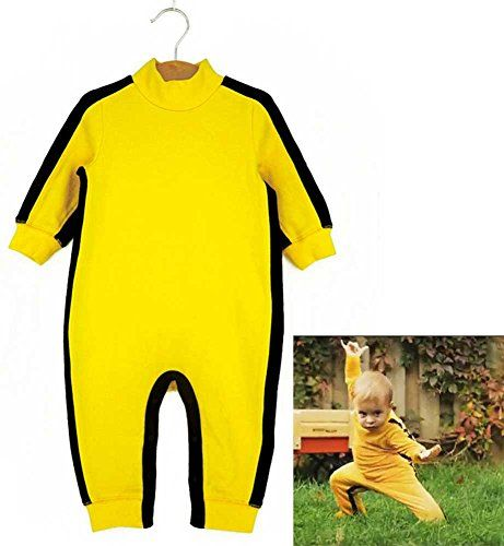 Aircee Tm Bruce Lee Baby Romper Suit Clothes Costume