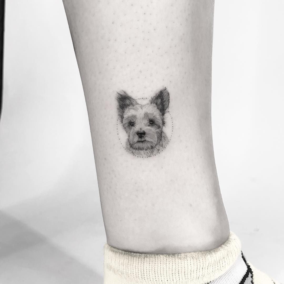 Pin By Bess Fifer On Awesome Gizmo Tattoo Dog Tattoos Cool Tattoos