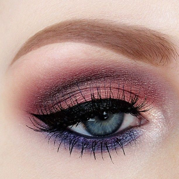 .@nicola_kate   Shadows by @motivescosmetics, brows are @anastasiabeverlyhills and lashes by ...