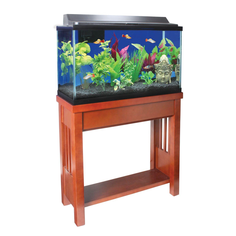Petco Karma 29 Gallon Wooden Tank Stand Tank Stand Aquarium Stand Fish Tank Stand