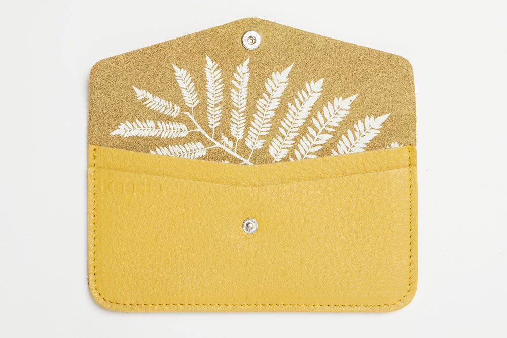 45e7d64b221 Keecie - Hide and Seek in yellow leather - Wallet or Iphone sleeve | Keecie  accessoires | mode accessoires | womens fashion accessories | Keecie.nl
