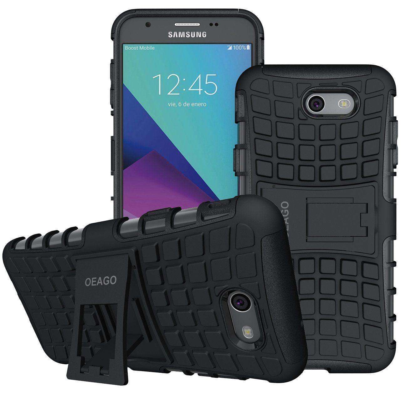 quality design 8f9fb b7a3c Amazon.com: OEAGO Samsung Galaxy J7 V J7V 1st Gen 2017 Case, Galaxy ...
