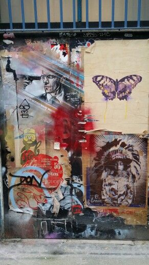 Shoreditch Graffiti: Painting, Graffiti, Art