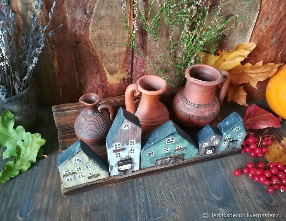 """Подставка для специй """"Осень в деревне"""" – купить в интернет ..."""